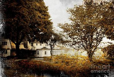 One Of The Old Homes Of Portsmouth, Nh Art Print by Marcia Lee Jones
