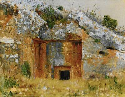 Jerusalem Painting - One Of The Old Jewish Tombs Near Jerusalem by MotionAge Designs