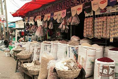 Photograph - One Of These Shops In Comayagua by Hany J