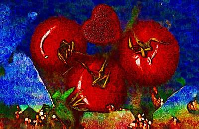 Food And Beverage Mixed Media - One of those beautiful still life by Pepita Selles
