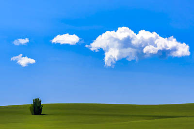 Scenery Digital Art - One On The Green II by Jon Glaser