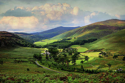 Photograph - One Perfect Day In Emerald Valley Of Wicklow  by Jenny Rainbow
