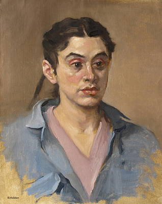Painting - One Pigtail Showing by Robert Holden