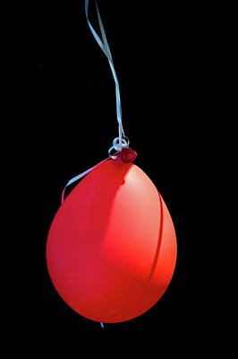 One Red Balloon Art Print by Wayne Stadler