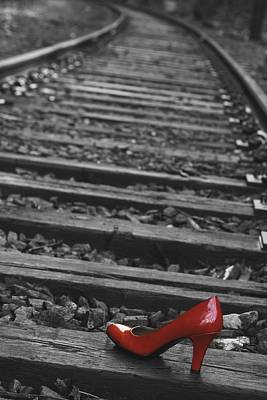 Photograph - One Red Shoe by Patrice Zinck