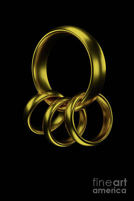 Digital Art - One Ring To Bind Them All by Clayton Bastiani