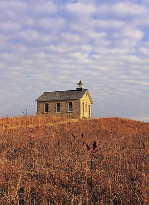 Photograph - One Room Hilltop by Christopher McKenzie