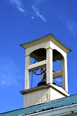 Photograph - One-room School Bell by Tana Reiff