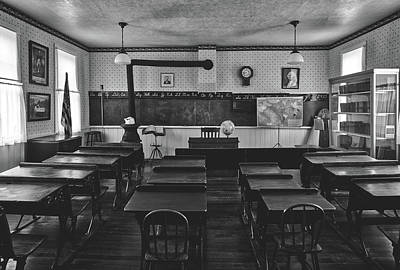 Photograph - One Room School House by L O C