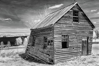 Photograph - One Room Schoolhouse by Paul Seymour