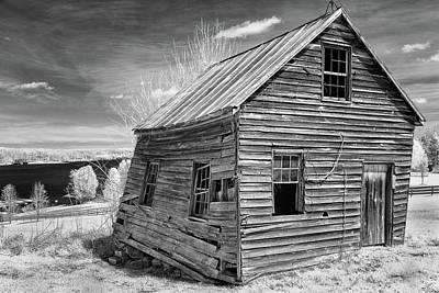 Photograph - One Room Schoolhouse by Paul Seymour