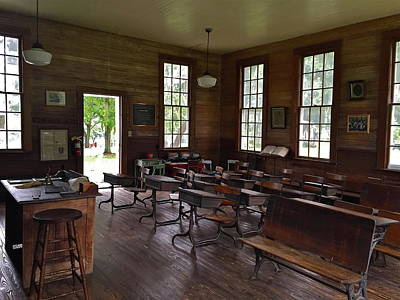 Photograph - One Room Schoolhouse by Denise Mazzocco