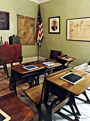 Photograph - One Room Schoolhouse In New Jersey by Susan Savad