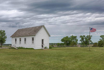 Photograph - One Room Schoolhouse by Susan Rissi Tregoning