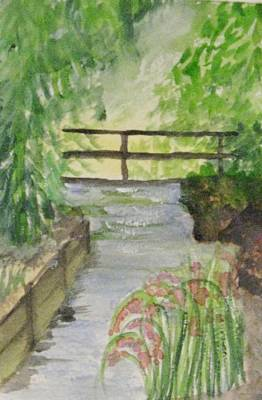 Art Print featuring the painting One Secret Place by Trilby Cole