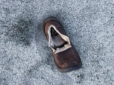 Photograph - One Shoe by Stan  Magnan