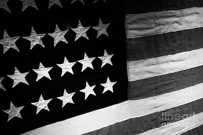 Photograph - Flag - One Stitch At A Time by Kip Krause