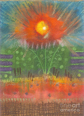 Print featuring the painting One Sunny Day by Angela L Walker