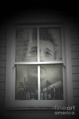 Bob Dylan Photograph - One Too Many Mornings by C E Dyer