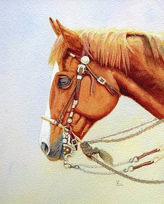 One Tricked Out Cowpony Art Print