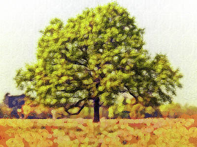 Digital Art - One Two Tree by Leigh Kemp