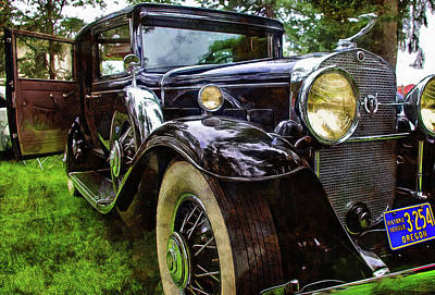 Photograph - One Very Nice 1931 Caddy by Thom Zehrfeld