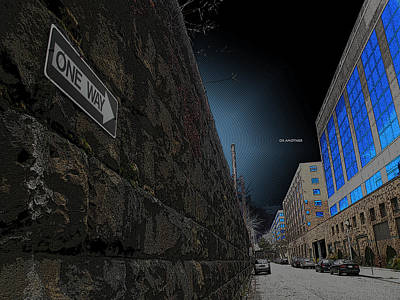 Broadway Digital Art - One Way Or Another by Joe Hickson