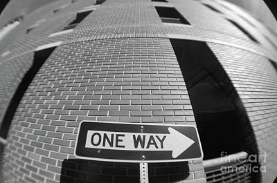 Photograph - One Way Or Another by John S