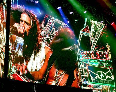 Aerosmith Photograph - One Way Street. Aerosmith Live  by Tanya Filichkin