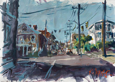 Painting - One Way Street by Robert Joyner
