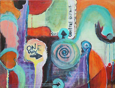 Painting - One Way To Go by Susan Stone