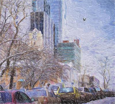 One Winter Day Original by Vladimir Kholostykh