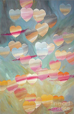 Wall Art - Painting - One With The Sky by Jeni Bate