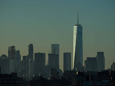 Photograph - One World Trade Center Dawn by Alan Roberts