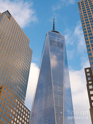 Photograph - One World Trade Center I by Clarence Holmes
