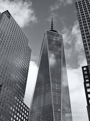 Photograph - One World Trade Center II by Clarence Holmes