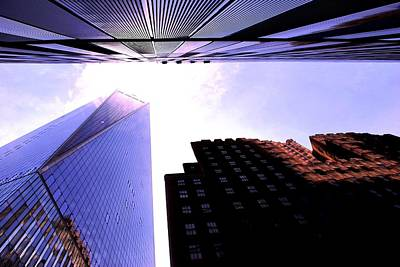 Photograph - One World Trade Center With Other Skyscrapers by Matt Harang