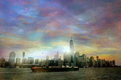One World Trade Print by Diana Angstadt