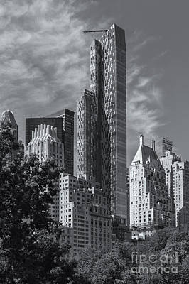 Photograph - One57 Residential Tower II by Clarence Holmes
