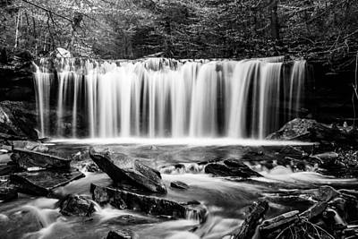 Photograph - Oneida Falls - 8655 by G L Sarti