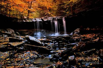 Photograph - Oneida Falls by Matthew Winn