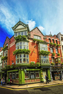 Photograph - O'neill's In Dublin by Debra and Dave Vanderlaan