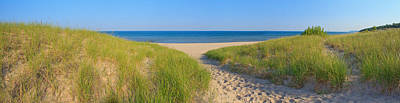 Portage Photograph - Onekama Michigan Beach by Twenty Two North Photography