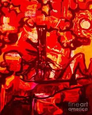Painting - Oneness by Jean Clarke