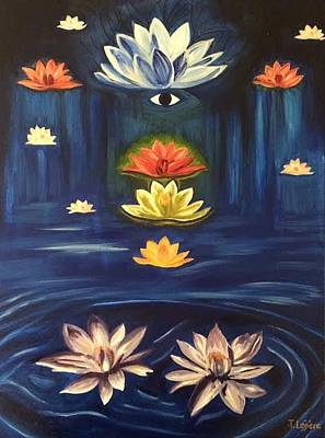 Painting - Oneness Multi Dimensional by Therese Legere