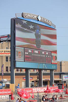 Photograph - Oneok Field by Sheri LaBarr
