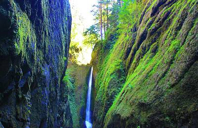 Photograph - Oneonta Gorge  by AR Annahita