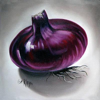 Onion Art Print by Ilse Kleyn