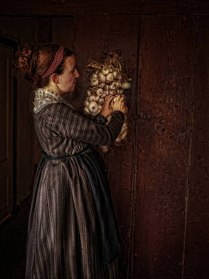 Photograph - Onion Keeper by Robin-Lee Vieira