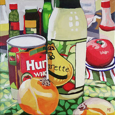 Painting - Onion Vinaigrette by Melinda Patrick